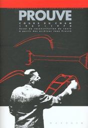 Prouve - Cours Cnam 1957-1970 - Intérieur - Format classique
