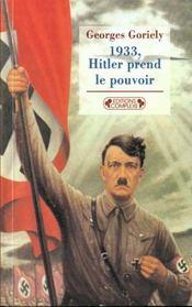 1933, Hitler Prend Le Pouvoir - Intérieur - Format classique