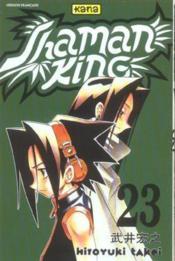 Shaman King T23 - Couverture - Format classique