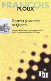 Guerres Paysannes En Quercy - Intérieur - Format classique