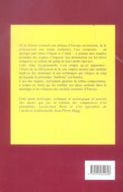 Arc Des Steppes - 4ème de couverture - Format classique