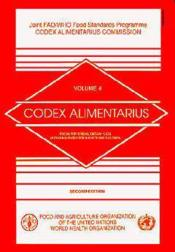 Codex alimentarius n.4 ; foods for special dietary uses including foods for infants and children - Couverture - Format classique