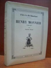Henry Monnier (1799-1877). - Couverture - Format classique