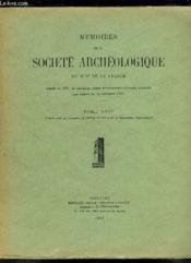 Memoires De La Societe Archeologique Du Midi De La France Tome Xxiv. - Couverture - Format classique