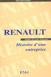 Renault, la memoire d'entreperises - Intérieur - Format classique