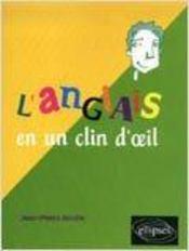 L'Anglais En Un Clin D'Oeil - Intérieur - Format classique