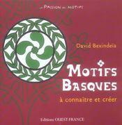 Motifs basques à connîitre et à créer - Intérieur - Format classique