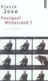 Pourquoi mitterrand ? - Intérieur - Format classique