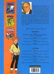 Chick Bill ; intégrale t.4 - 4ème de couverture - Format classique