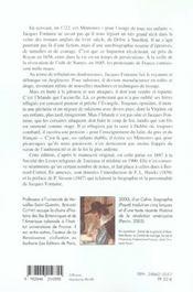 Memoires D'Une Famille Huguenote ; Victime De La Revocation De L'Edit De Nantes - 4ème de couverture - Format classique