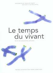 Le Temps Du Vivant - Intérieur - Format classique