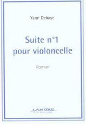 Suite N.1 Pour Violoncelle - Intérieur - Format classique