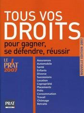 Tous vos droits 2007 - Intérieur - Format classique