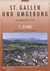 Saint Gallen und Umgebund ; 2501 - Couverture - Format classique