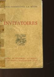 Invitatoires - Couverture - Format classique
