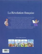 L'histoire de France t.5 ; la révolution française - 4ème de couverture - Format classique