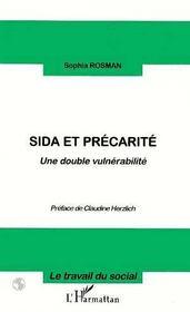 Sida Et Precarite ; Une Double Vulnerabilite - Intérieur - Format classique