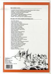 Recueil Spirou t.293 - 4ème de couverture - Format classique