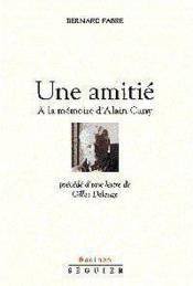 Amitie - Couverture - Format classique