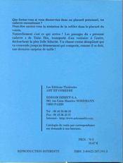 Sortez De La Tatie Bea - 4ème de couverture - Format classique