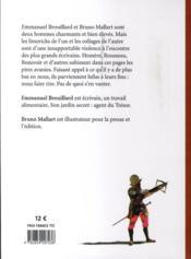 Trois claques à Balzac ; quatre-vingts corrections d'auteur - 4ème de couverture - Format classique
