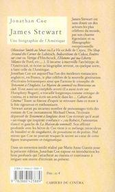 James Stewart, une biographie de l'Amérique - 4ème de couverture - Format classique
