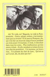 La Femme Du Boulanger. - 4ème de couverture - Format classique