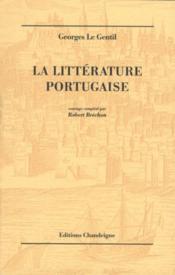La Litterature Portugaise - Couverture - Format classique