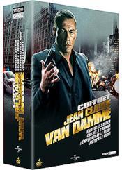 Coffret Jean-Claude Van Damme - Universal Soldier + Chasse À L'Homme + L'Empreinte De La Mort + Jusqu'À La Mort - Couverture - Format classique