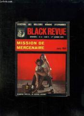 Black Revue N° 3 1970. Mission Du Mercenaire Par Fray Jacky. - Couverture - Format classique