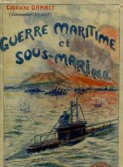 Guerre Maritime Et Sous-Marine. Tome 8. - Couverture - Format classique