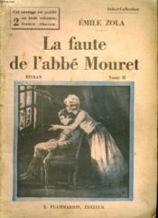 La Faute A L'Abbe Mouret. Tome 2. Collection : Select Collection N° 314 - Couverture - Format classique