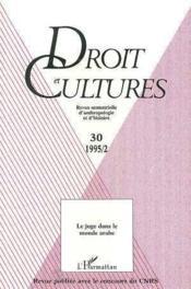 Juge Dans Le Monde Arabe - Couverture - Format classique