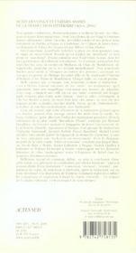 Vingt Et Uniemes Assises De La Traduction Litteraire - 4ème de couverture - Format classique