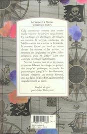 Le peintre et le pirate - 4ème de couverture - Format classique