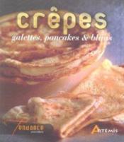Crêpes, galettes, pancakes et blinis - Couverture - Format classique