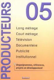 Producteurs 2005 (édition 2005) - Intérieur - Format classique
