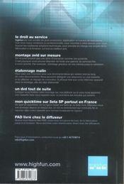 Producteurs 2005 (édition 2005) - 4ème de couverture - Format classique