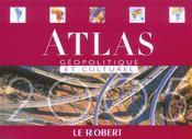 Atlas Geopolitique Et Culturel - Intérieur - Format classique