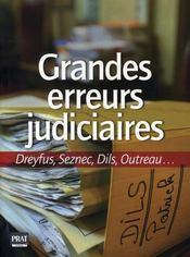 Grandes erreurs judiciaires - Intérieur - Format classique