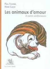 Les animaux d'amour et autres sardinosaures - Intérieur - Format classique