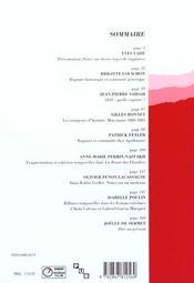 Ruptures Continuites - 4ème de couverture - Format classique