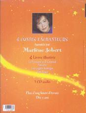 4 Contes Enchanteurs - 4ème de couverture - Format classique