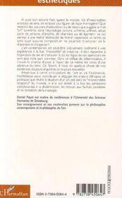 L'Objet-Fibule : Les Petites Attaches De L'Art Contemporain - 4ème de couverture - Format classique