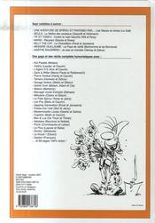 Recueil Spirou t.295 - 4ème de couverture - Format classique
