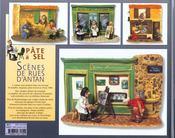 Pate A Sel Scenes De Rues D'Antan - 4ème de couverture - Format classique
