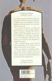 Du Sang Sur Les Bles - 4ème de couverture - Format classique