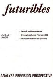 Futuribles No46 Juillet Aout 1981 - Couverture - Format classique