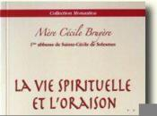 La vie spirituelle et l'oraison - Couverture - Format classique
