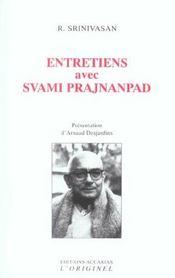 Entretiens Avec Svami Prajnanpad - Intérieur - Format classique